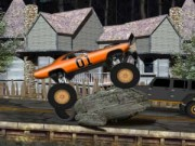 Nitro Truck Jumper - Racing Games - Car Games