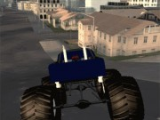 Monster Truck Driving Sim phố game