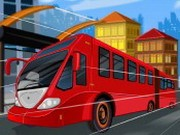 Speed ​​Bus Frenzy - auto race spelletjes - auto spelletjes
