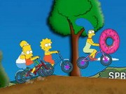 Simpsons Bike Rally - Bike Games - Car Games