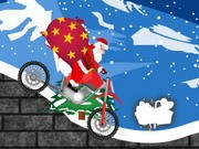 Christmas Bike Trip - Bike Games - Car Games