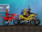 Power Rangers Race - Bike Games - Car Games