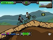 Ben 10 BMX - Bike Games - Car Games