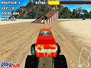 Monster Race 3D Game - Car Racing Games - Car Games