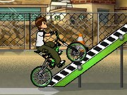 Ben 10 Street Stunt - Bike Games - Car Games