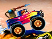 Monster Crazy Wheels Juego
