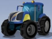 Futuristik Tractor Racing - game balap mobil - mobil game