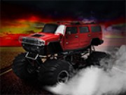 Rouge Jeu de Monster Truck Hot