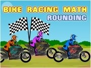 Bike Racing Math Arrondi - jeux de moto - jeux de voiture
