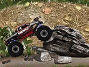 Monster Truck Jungle Chal - köra spel - bil spel