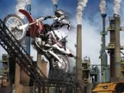 Industrial Site Stunts Game