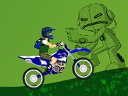 Ben 10 Super Cross - Bike Games - Car Games