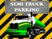 Semi Truck Parking - Car Parking Games - Car Games