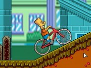 Bart On Bike - Bike Games - Car Games