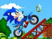 Sonic Xtreme Bike - Bike Games - Car Games