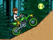 Ben 10 Dirt Bike Remix - Bike Games - Car Games