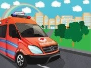 Emergency Van Parking - Car Parking Games - Car Games