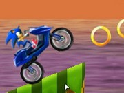 Sonic Motobike - Bike Games - Car Games