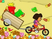 Dora And Gummy - Bike Games - Car Games