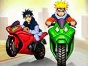 Naruto Moto Race Game
