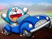 Doraemon Friends Race - Car Racing Games - Car Games