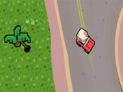 Big Pixel Racing Game
