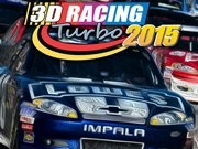 3D Racing Turbo 2015 - bil racingspel - bil spel