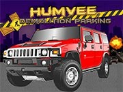 Humvee Démolition Parking - jeux de parking - jeux de voiture