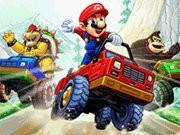 Mario Truck War - Car Racing Games - Car Games
