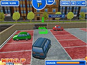 Shopping Mall - game parkir mobil - mobil game