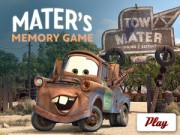 Cars 2 - Mater  's Memory - Memory Games - mobil game