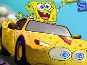 Spongebob Speed ​​Car Racing - auto race spelletjes - auto spelletjes