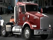 18-Wheeler In Traffic - Car Racing Games - Car Games