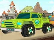 Toon Truck Ride - Car Racing Games - Car Games