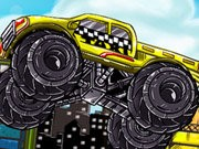 Monster Truck Taxi Game