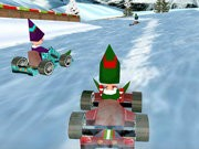 Natal Elf ras 3d - game balap mobil - mobil game