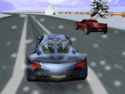 Winter Race 3D Game