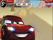 Lightning McQueen : Desert Dash Game