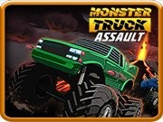 Monster Truck Assault - bil racingspel - bil spel
