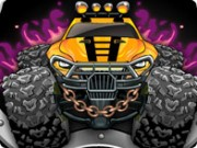Monster's Wheels - Car Racing Games - Car Games