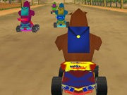 Safari 3D Ras - game balap mobil - mobil game