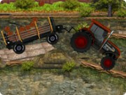 play FOUR WHEELER TRACTOR DE…