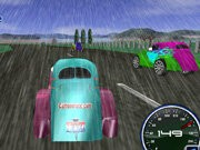 Mini Rain Race Game