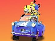 Minion gila Racing - game balap mobil - mobil game