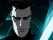 Tron Uprising Games : Grid Rush - Racing Games - Car Games