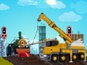 Railroad Crane Parking - Car Parking Games - Car Games