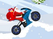 Santa Claus Biker 2 - Bike Games - Car Games