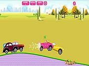 Barbie Car Racing - auto race spelletjes - auto spelletjes