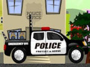 Police Truck - Car Racing Games - Car Games