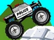 Police Monster Truck Game